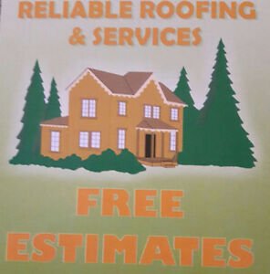 Reliable Roofing (Snow Removal) Cambridge Kitchener Area image 1