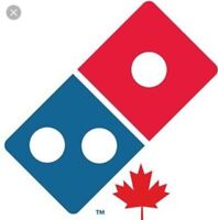 Domino's pizza hire cook and delivery drivers