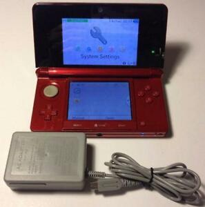 *****NINTENDO 3DS ROUGE / RED NINTENDO 3DS*****