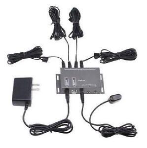 IR Infrared Remote Control Extender Emitter Kit - 4 IR Emitters