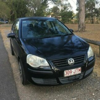 2006 Volkswagen Polo 9N MY06 Upgrade TDI Black 5 Speed Manual Hatchback Rocklea Brisbane South West Preview