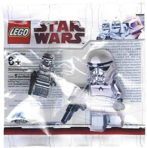 LEGO STAR WARS Chrome Silver Stormtrooper Minifigure Minifig BRAND NEW SEALED