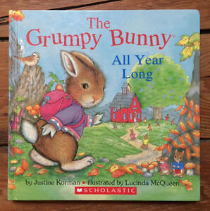 THE GRUMPY BUNNY - All Year Long Treasury 6 books in 1 - $5