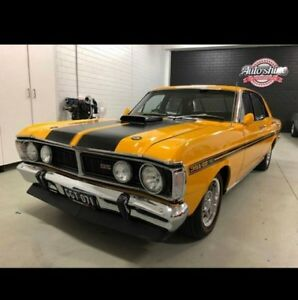 1971 Ford Falcon XY GT Yellow 3 Speed Automatic Sedan
