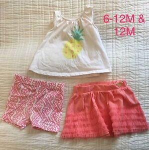 Baby girl clothes! Pristine condition!
