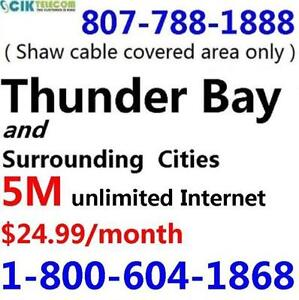 FREE modem rental - 5M Unlimited Cable Internet - $24.99/month