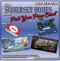Somerset Homes Pick Your Prize Event