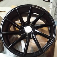NEW! ALL Black! 18 rims/tires audi a4 a5 a6 a8 BMW 350z g35 370