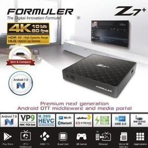 FORMULER Z7+ PLUS 4K 60FPS IPTV QUAD CORE 2GB DDR4 ANDROID 7.1 MADE BY DREAMLINK