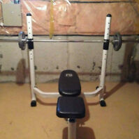 Parabody Olympic Bench Press + Olympic Bar + Olympic Weights