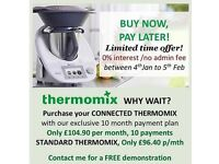 Thermomix with interest free finance - available only until 5th Feb!