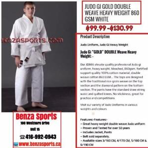 Judo Gi / Judo Uniform GOLD Double Weave Heavy Weight 860 GSM  @ Benza Sports