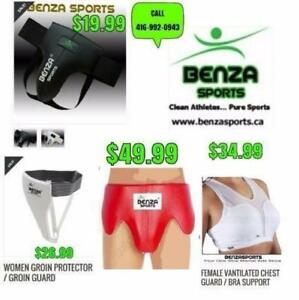 JOCK,RASH GUARDS, GROIN PROTECTORS @ BENZA SPORTS $19.99