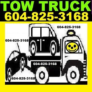 TOWING*604-825-3168*Tow Truck*CHILLIWACK,ABSFRD/Agassiz/VANCVR
