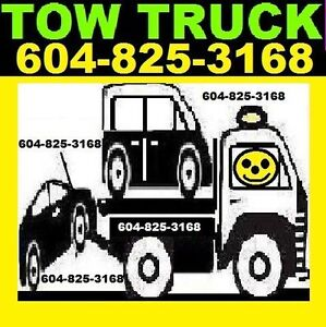 *TOWING*604-825-3168*Tow Truck*Chwk,Absfrd,SRY,Delta,Vancvr