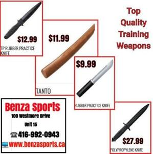 Practice Knifes for Sale only @ BENZA SPORTS