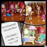 FRAISINETTES / 5 senteurs / COLLECTION / meubles / 15 mcx / 20$ Laval / North Shore Greater Montréal Preview