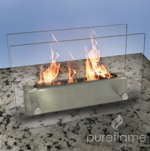 NEW ETHANOL BIO FUEL FIREPLACE-NO VENTING REQ'D+ FREE DELIVERY