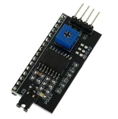 IIC I2C TWI SPI SCHNITTSTELLE KARTENMODUL PCF8574T FUER ARDUINO 1602 LCD 20 U5D1