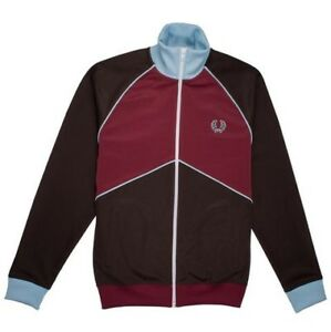 Fred Perry chevron track jacket