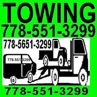 A-TOW TRUCK*778*551*3299 TOWING MISSION/Fraser Valley*FLAT RATES