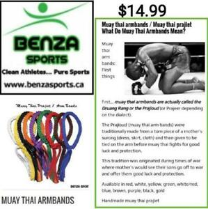 Muay Thai Armbands only @ Benza Sports for $14.99