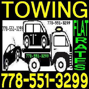 TOWING 778+551+3299 Tow Truck AGASSIZ,Harrison,ABBOTSFORD
