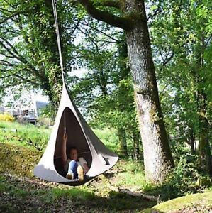 Cacoon Bonsai Hammock chair with accessories and floor stand