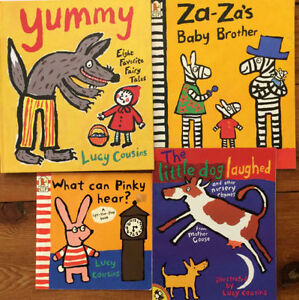 Children's Books by LUCY COUSINS 4 for $10