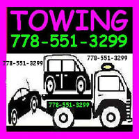 *TOW TRUCK*FLAT RATES 778+55I+3299*VANCOUVER-LOWER MAINLAND