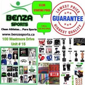 TOP QUALITY MARTIAL ARTS SUPPLIES ONLY @ BENZA SPORTS