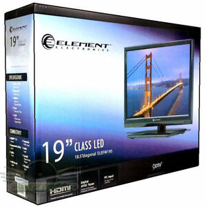 ELEMENT LED 19 INCH TV / MONITOR