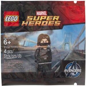 LEGO 5002943 Winter Soldier New Sealed