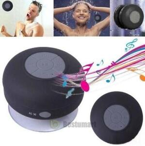 Wireless Bluetooth Handsfree Waterproof Mic Suction Mini Speaker