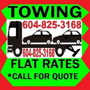 #1 JON TOWING*(604)825-3168 Car,Truck,Van,4x4,Forklift,3 Ton ETC