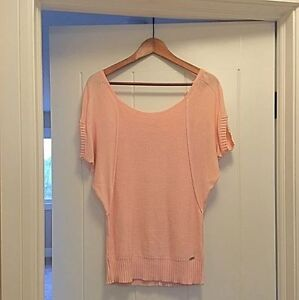 GUESS Sweater!  Pink! SMALL!