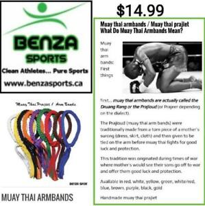 Muay Thai Arm Band for Sale only Benza Sports HURRYYY