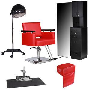 New salon equipment styling station chair mat hair dryer for New salon equipment