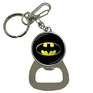 Batman-Logo-Key-Ring-Key-chain-Beer-Soda-Bottle-Cap-Opener-Best-New