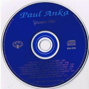A 14 SONG PAUL ANKA AUTOGRAPHED CD London Ontario image 4
