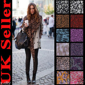 Brand-New-Celebrity-Hot-Large-Animal-Leopard-Print-Shawl-Stole-Scarf-On-Sale