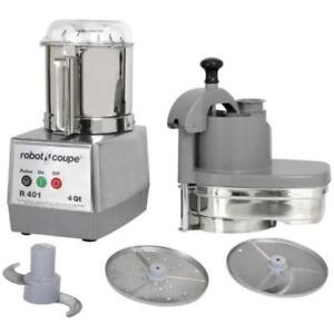 Robot Coupe R401 Combination Continuous Feed / Batch Bowl .*RESTAURANT EQUIPMENT PARTS SMALLWARES HOODS AND MORE*