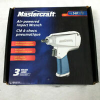 """Mastercraft Air-powered Impact Wrench 3/8"""" 140 ft lbs"""