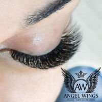 Luxury Eyelash extensions, Pose de cils Luxe. Top quality!