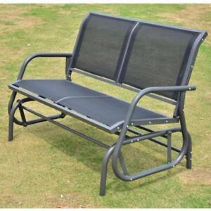 Porch Glider / Bench Rocker Porch Patio Loveseat Swing Chair