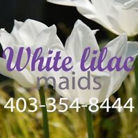 White Lilac Maids - A Premiere Okotoks based service. Call today