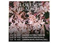 1x FLORENCE & the MACHINE ticket HALIFAX