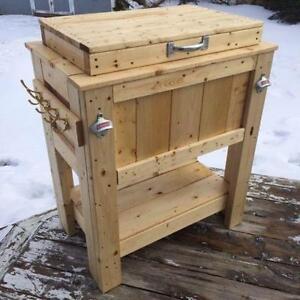 Cooler Boxes & Bar Sets for sale. Warrantied