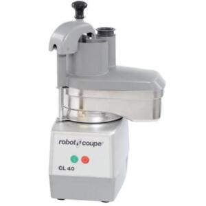 Robot Coupe CL40 Continuous Feed Food Processor w All Metal Base . *RESTAURANT EQUIPMENT PARTS SMALLWARES HOODS AND MORE