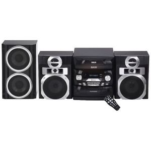 RCA 800-Watt 5-CD Bluetooth Sound System with Subwoofer